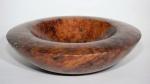 Red gum burl bowl