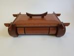 Lacewood keepsake box.