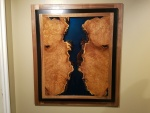 Russian olive river wall hanging